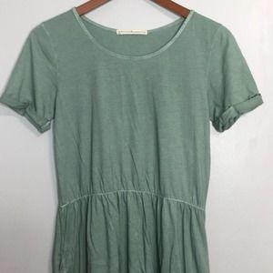 Peruvian Connection cinch waist T-shirt dress szXS